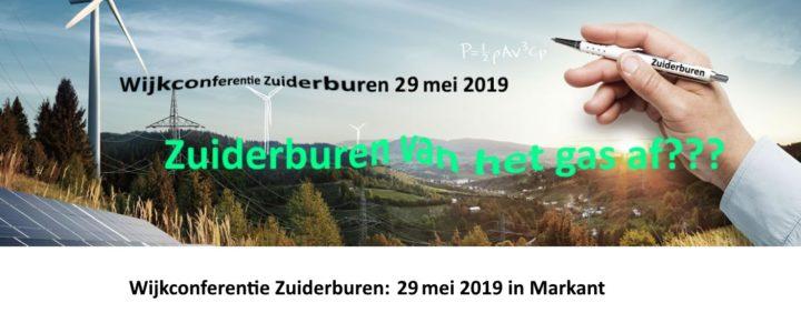 Wijkconferentie: 29 mei 2019 in Markant