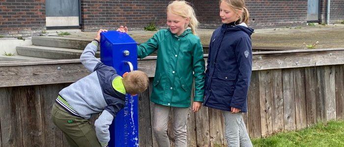 Watertappunt bij Markant