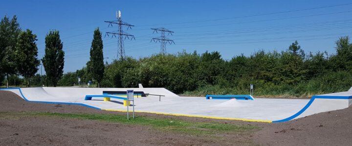 Nieuwe skatebaan is open!
